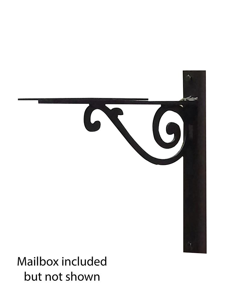 Baldwin Mailbox Mounting Bracket