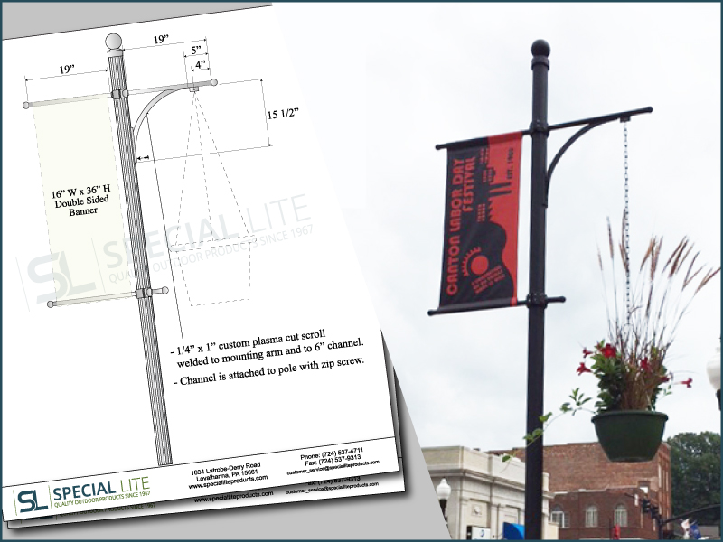 Canton-North-Carolina-Banner-Hanging-Basket-Arm2