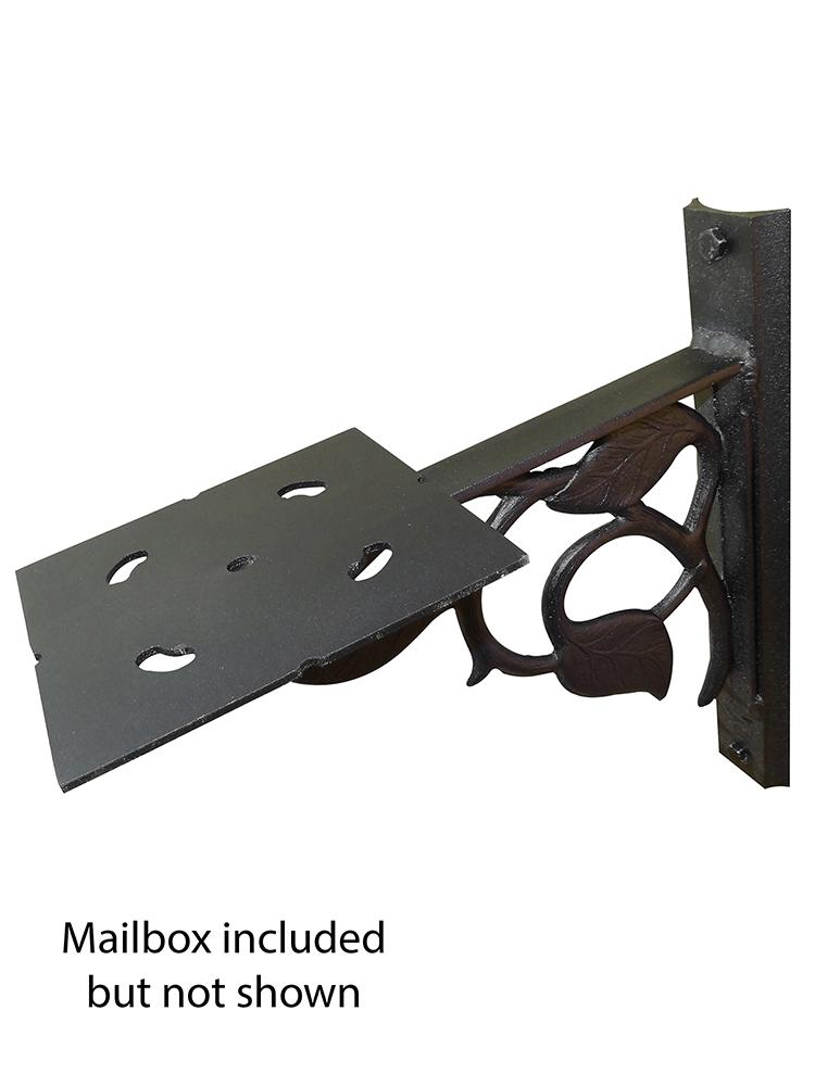 Floral Mailbox Mounting Bracket