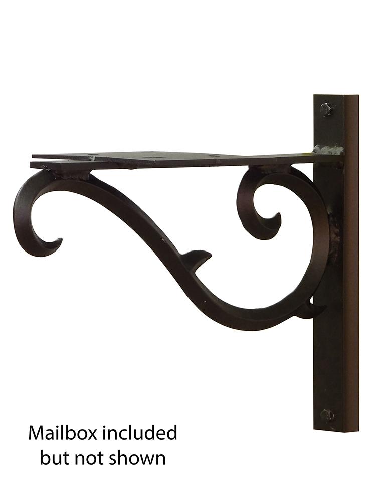 Sorrento Mailbox Mounting Bracket
