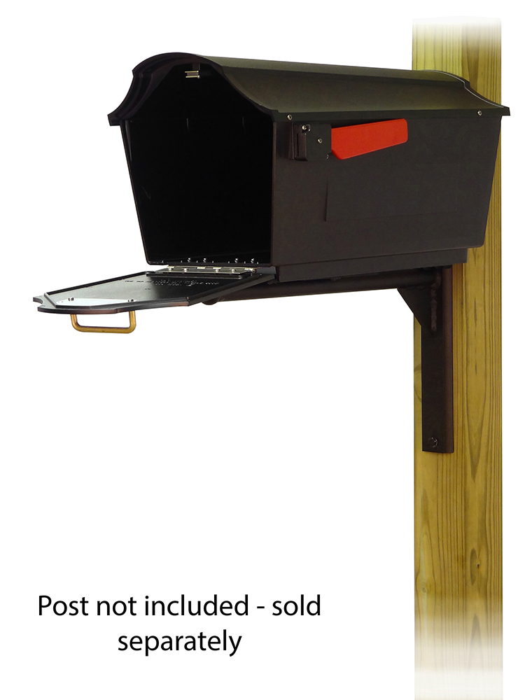 Ashley Mounting Bracket with Town Square Curbside Mailbox