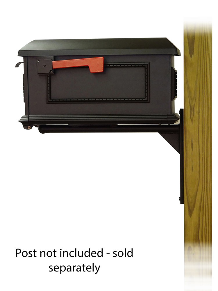Ashley Mounting Bracket with Traditional Curbside Mailbox