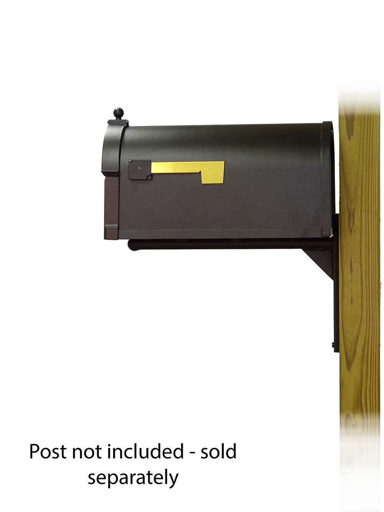 Ashley Mailbox Mounting Bracket and Berkshire Curbside Mailbox