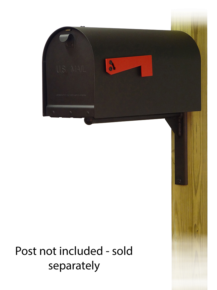 Ashley Mounting Bracket with Titan Curbside Mailbox