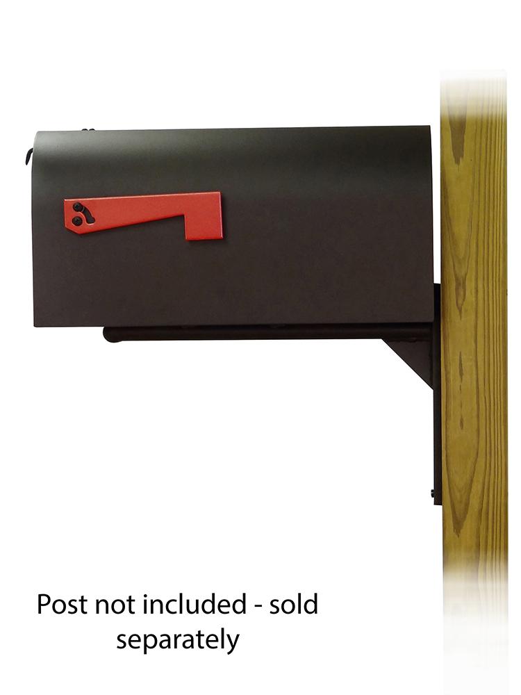 Ashley Mailbox Mounting Bracket and Titan Curbside Mailbox