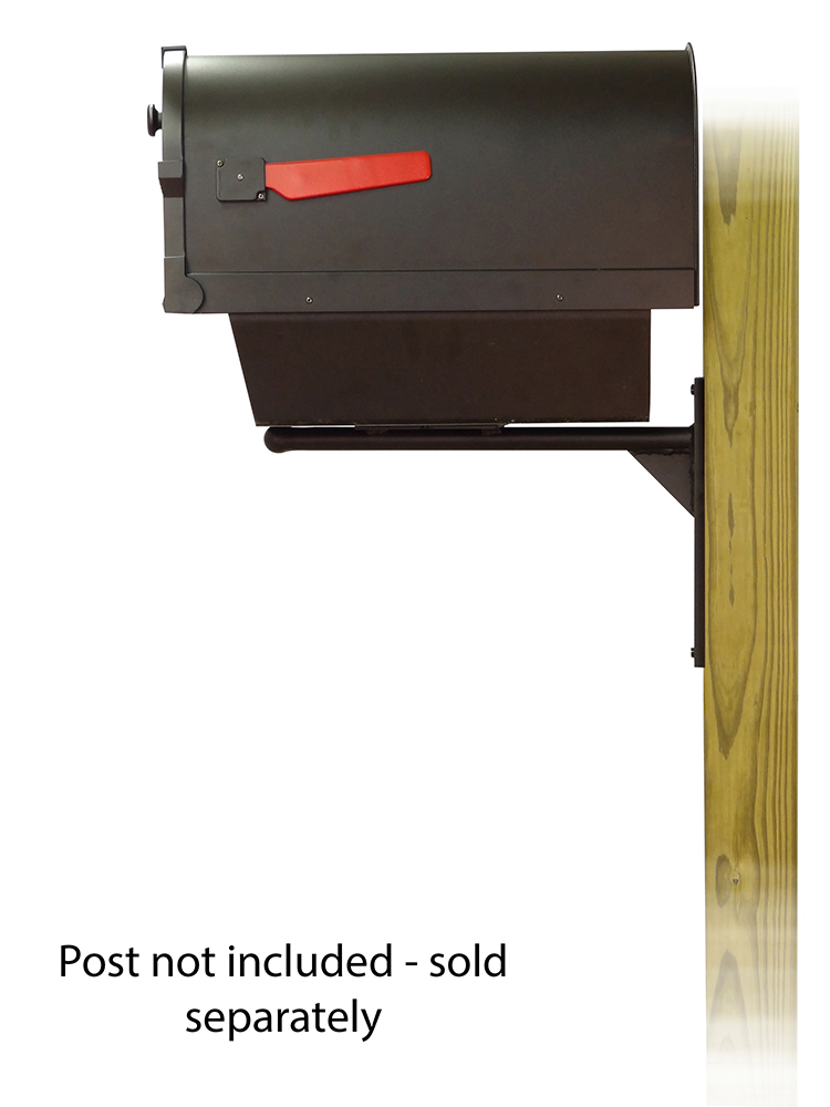 Ashley Mounting Bracket with Savannah Curbside Mailbox