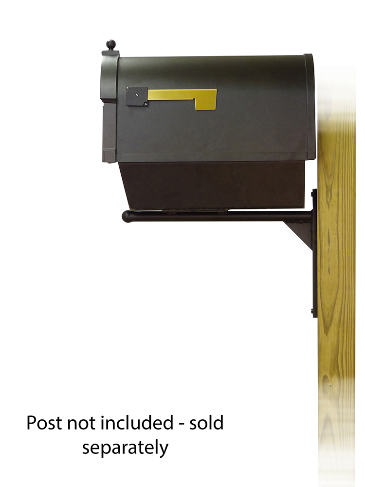 Ashley Mounting Bracket with Berkshire Curbside Mailbox