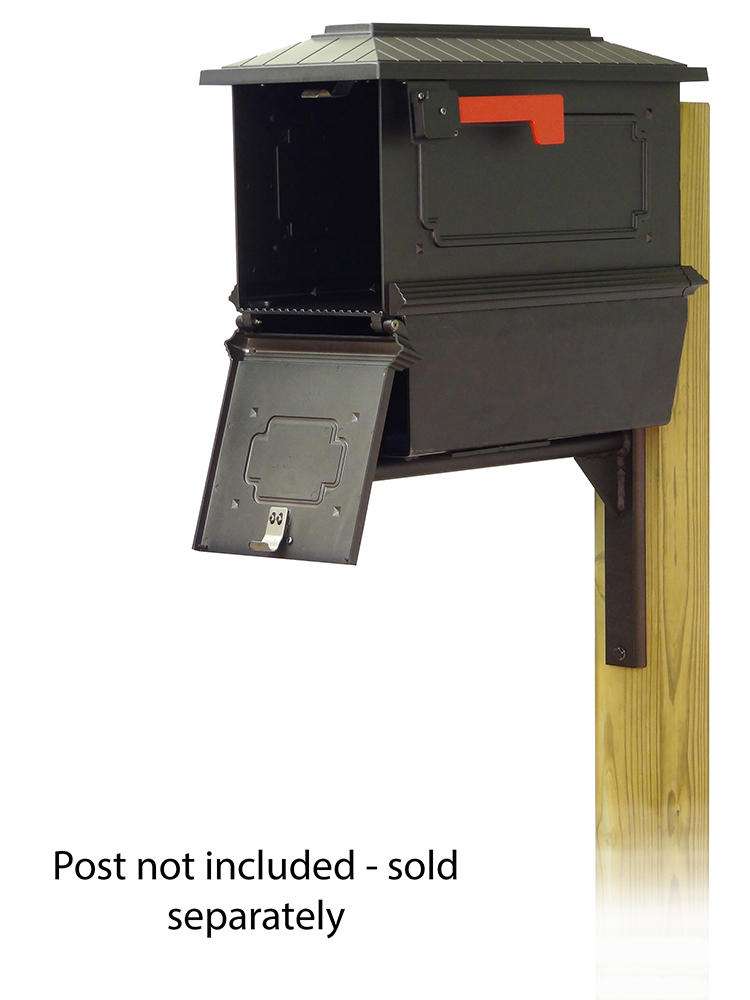 Ashley Mounting Bracket with Kingston Curbside Mailbox