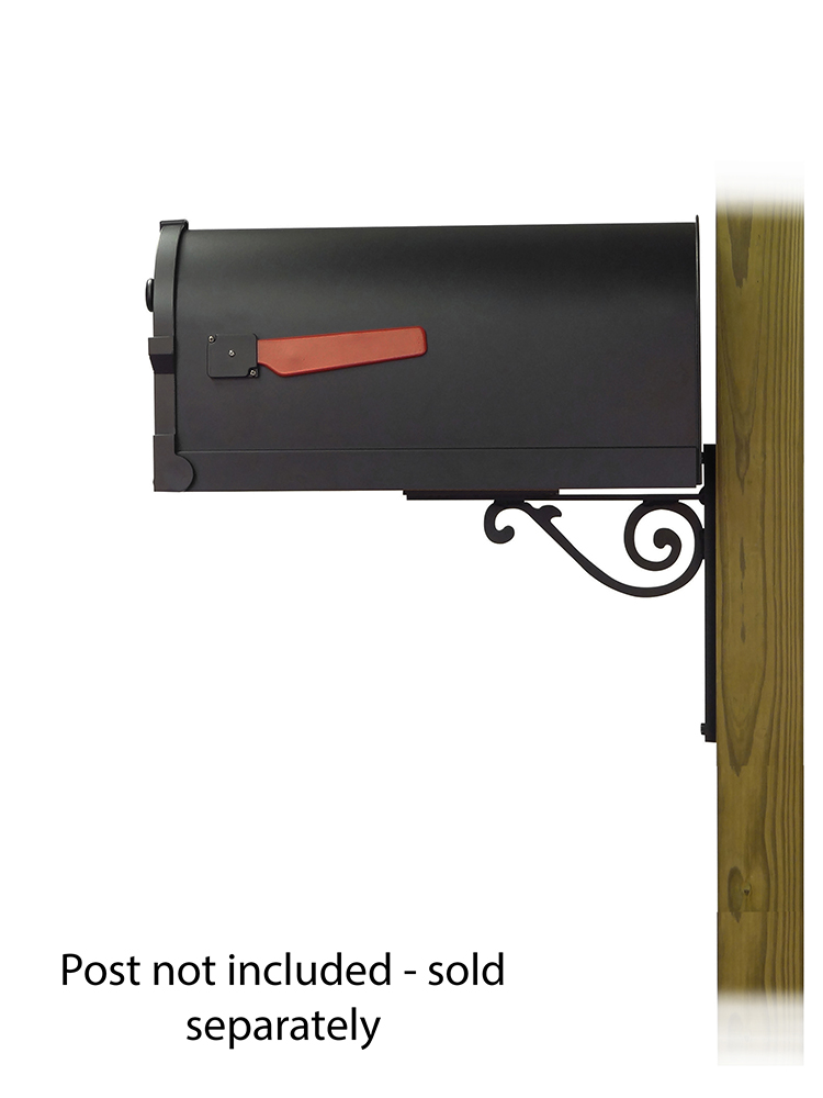 Baldwin Mailbox Mounting Bracket with Savannah Curbside Mailbox
