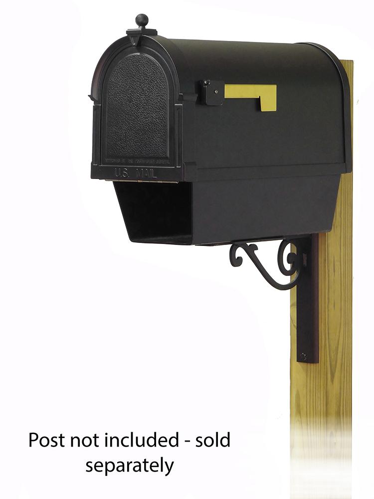 Baldwin Mailbox Mounting Bracket with Berkshire Curbside Mailbox