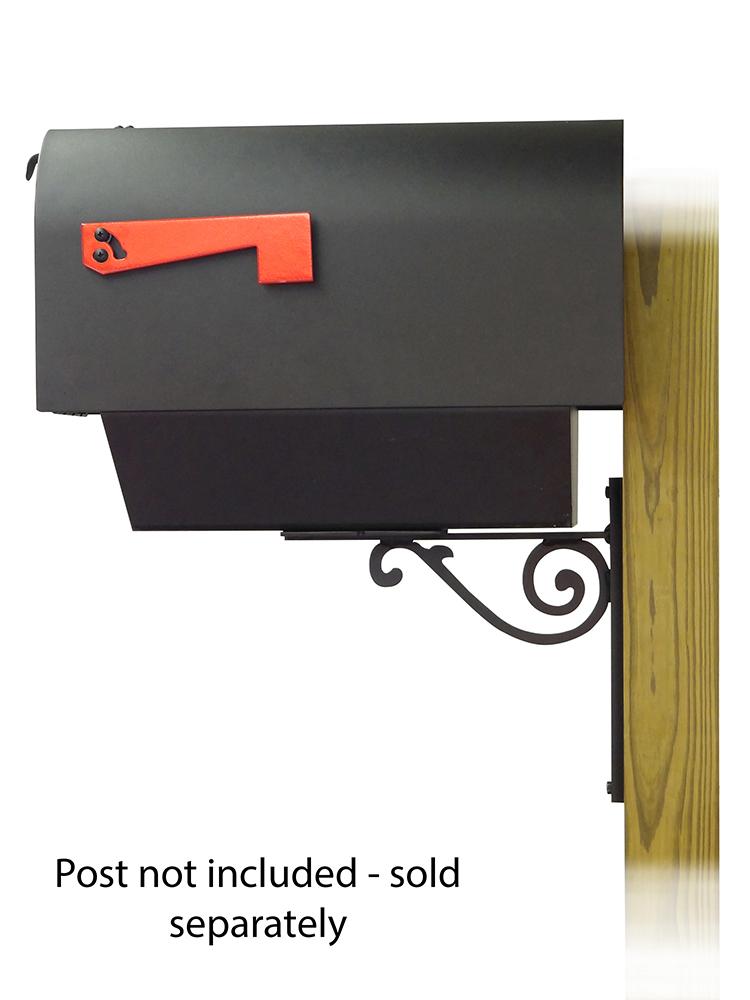 Baldwin Mailbox Mounting Bracket with Titan Curbside Mailbox