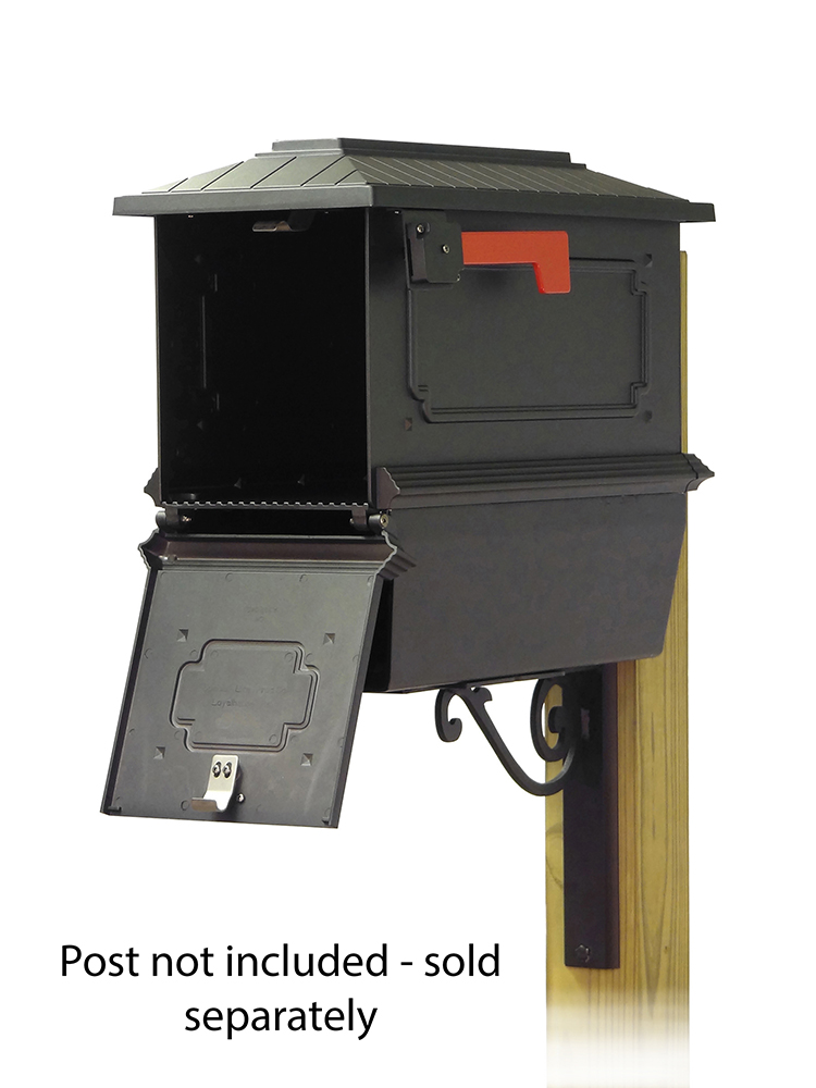 Baldwin Mailbox Mounting Bracket with Kingston Curbside Mailbox