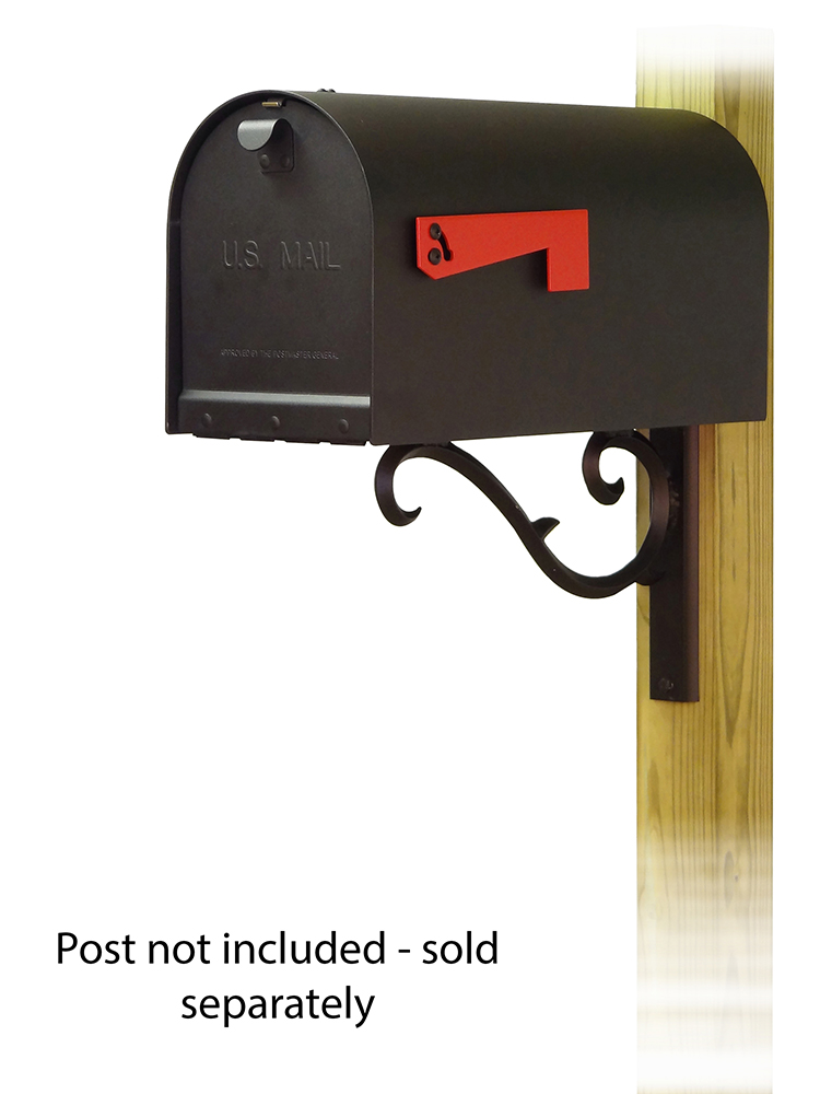 Sorrento Mailbox Mounting Bracket and Titan Curbside Mailbox