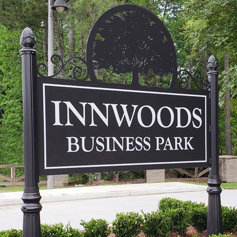 Innwoods-Business-Park-Custom-Post-Panel-Sign
