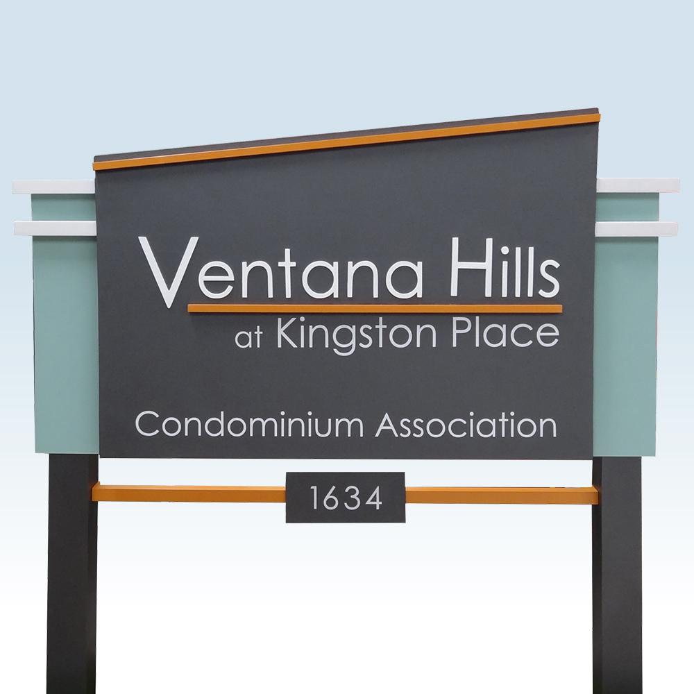 Ventana-Hills-contemporary-community-Entrance-Sign