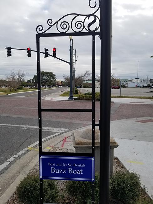 City of Sanford Florida Merchant Signs