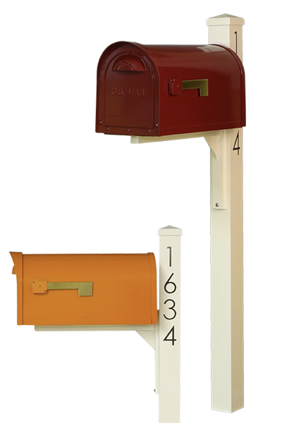 Dylan Mid Century Modern Curbside Mailboxes