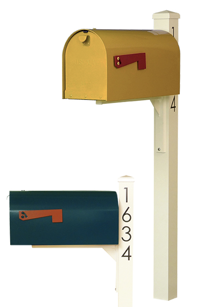 Rigby Mid Century Curbside Maildobx