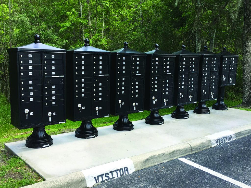 Picture of: Mid Century Modern Curbside Mailboxes Special Lite