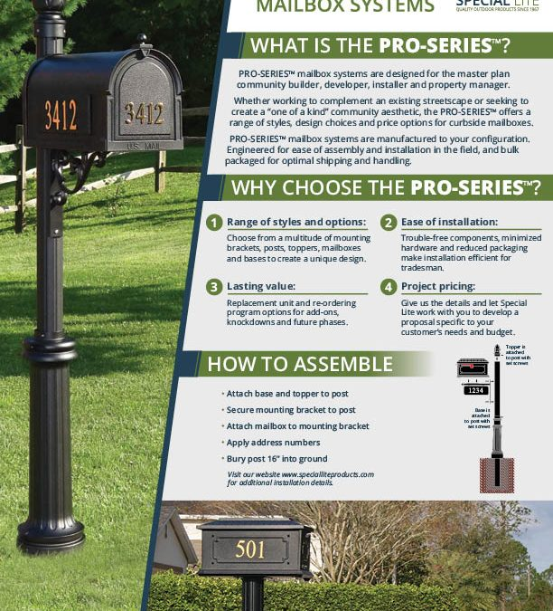 Pro series mailbox systems