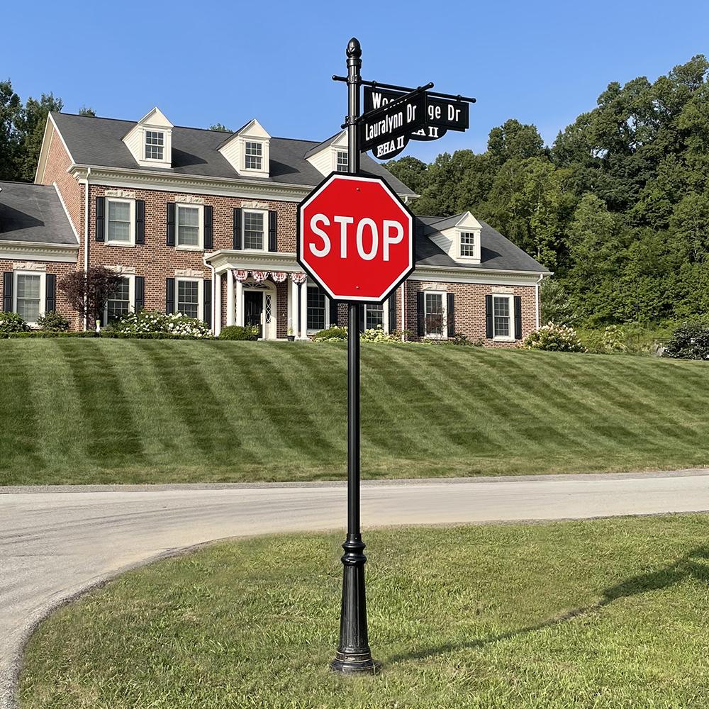 East High Acres Decorative Street Signage near Greensburg Pennsylvania