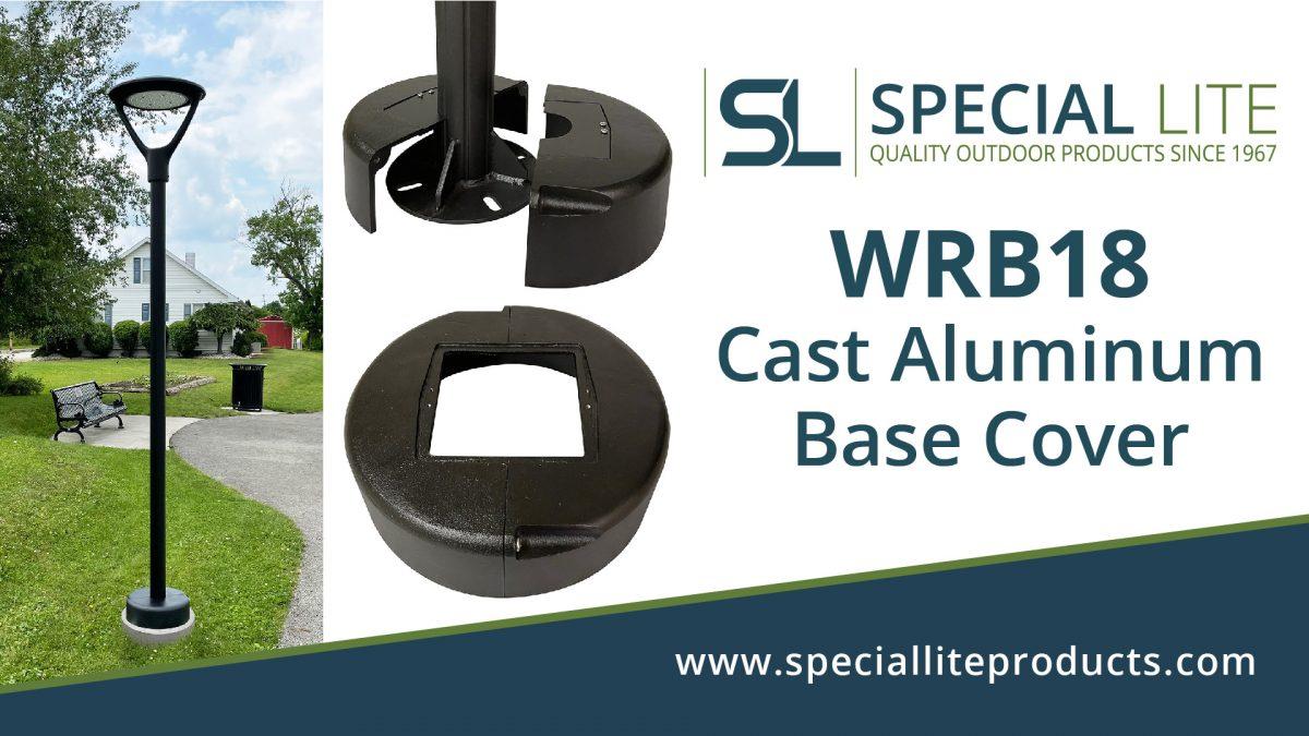 WRB18 Cast Aluminum Base Cover